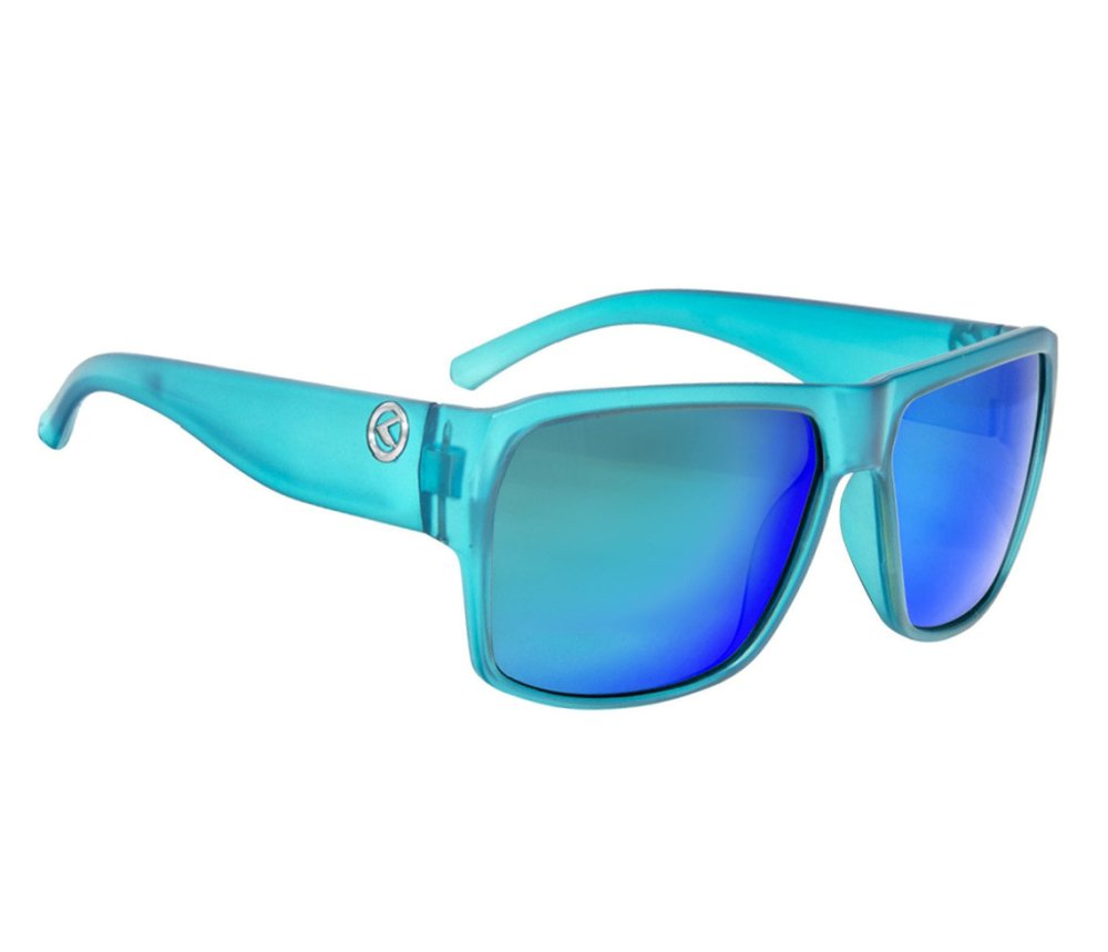 Sonnenbrille RESPECT- Crystal Blue POLARIZED